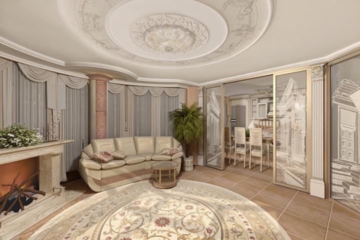 Стоимость дизайна квартиры в Украине
