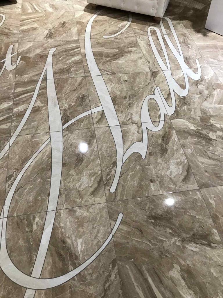 Гидроабразивная (водоструйная) порезка керамической плитки