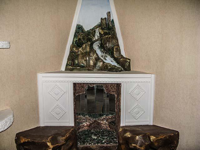 Декоративные камины в интерьере