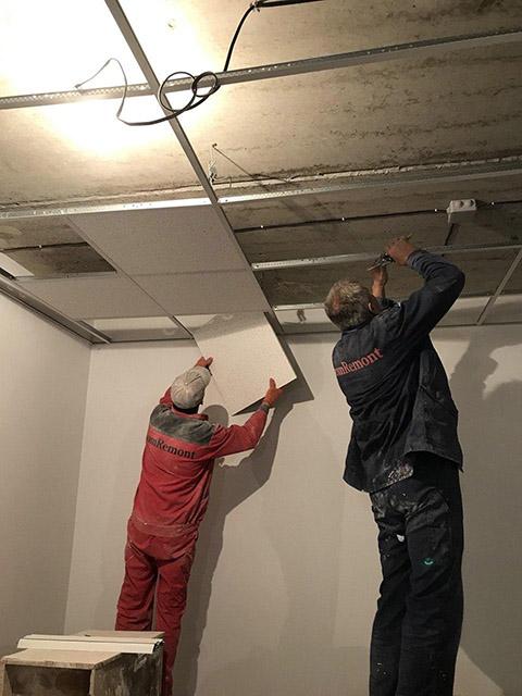 Подвесные потолки армстронгг: стоимость установки