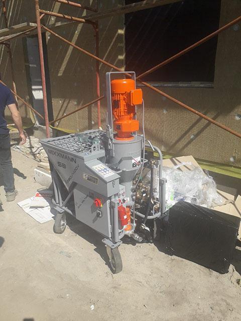 Машинная штукатурка в Киеве – что это такое, сферы применения