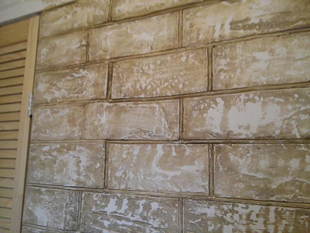Декоративные покрытия для стен - правила нанесения