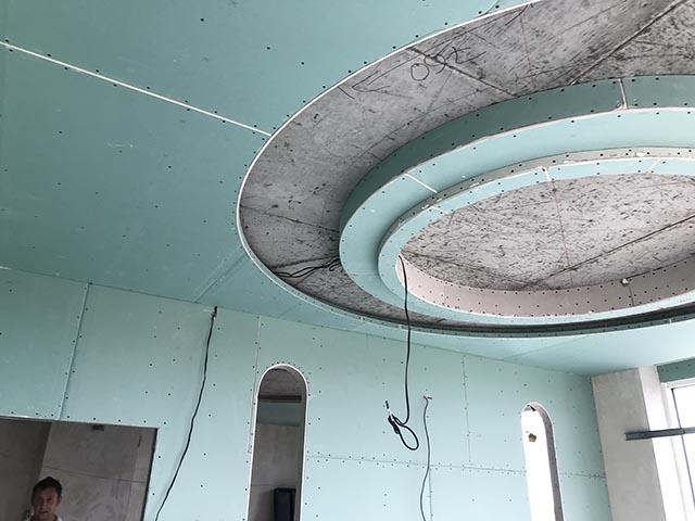 Монтаж потолков из гипсокартона - что надо знать