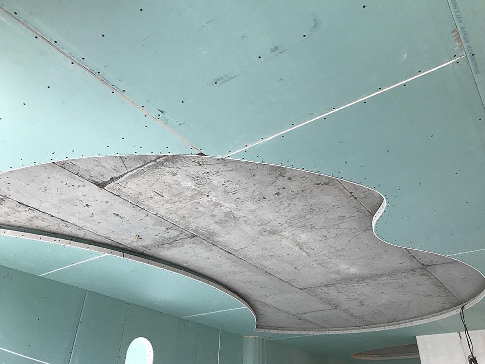 Монтаж потолков из гипсокартона - нюансы