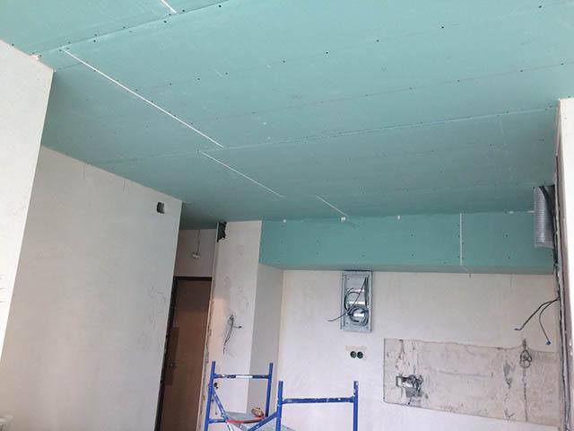 Монтаж потолков из гипсокартона - материалы